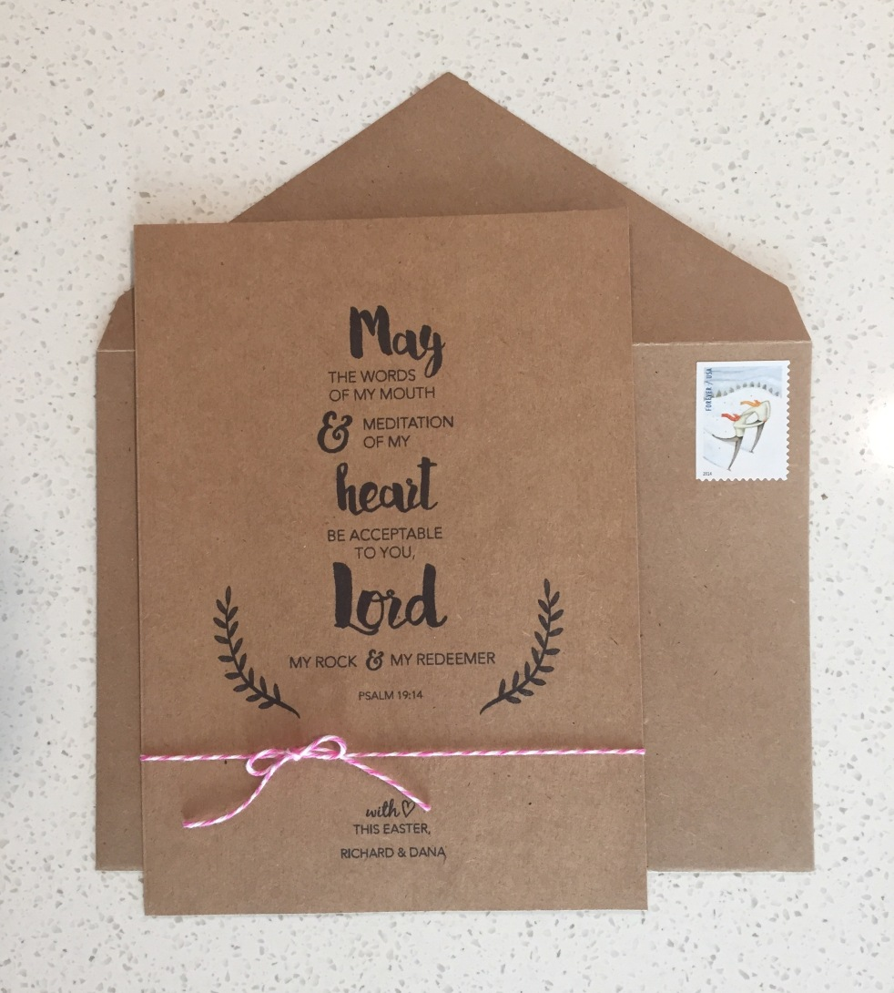 Easter Greeting Card | love+grace